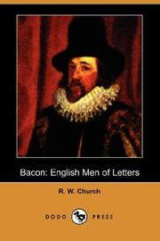 Cover of: Bacon by Church, Richard William