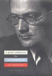 Cover of: A quiet American | Andy Marino