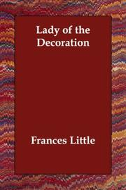 Cover of: The lady of the decoration | Frances Little