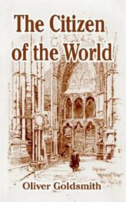 Cover of: The Citizen of the World | Oliver Goldsmith