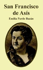 Cover of: San Francisco De Asis | Emilia Pardo Bazan