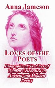 Cover of: Loves Of The Poets | Anna Jameson