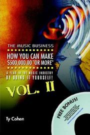 Cover of: The Music Business | Ty Cohen