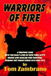 Cover of: Warriors of Fire | Tom Zambrano