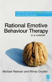 Cover of: Rational Emotive Behaviour Therapy in a Nutshell (Counselling in a Nutshell) | Windy Dryden