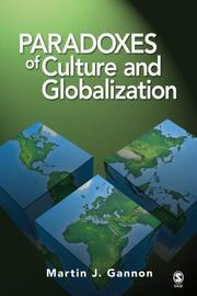 Cover of: Paradoxes of Culture and Globalization | Martin J. Gannon