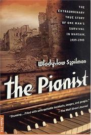 Cover of: The Pianist | Władysław Szpilman