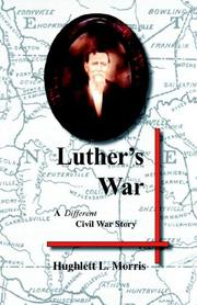 Cover of: Luther's War | Hughlett L. Morris