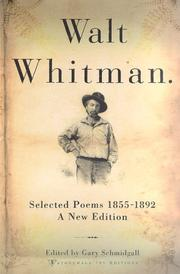 Cover of: Poems by Walt Whitman