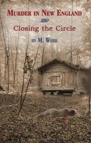 Cover of: Murder in New England & Closing the Circle | Webb, M.