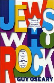 Cover of: Jews Who Rock | Guy Oseary