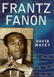 Cover of: Frantz Fanon | David Macey