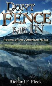 Cover of: Don't Fence Me In | Richard F. Fleck