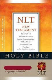 Cover of: New Testament by Tyndale
