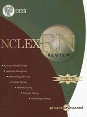 Cover of: NCLEX-RN® Review Manual with STUDYware CD-ROM | HESI