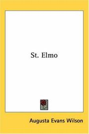 Cover of: St. Elmo | Augusta Evans Wilson