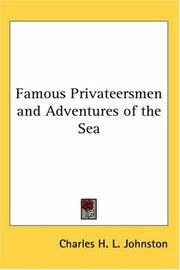 Cover of: Famous Privateersmen and Adventures of the Sea | Charles H. L. Johnston