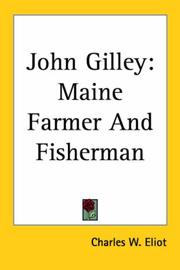 Cover of: John Gilley | Charles W. Eliot