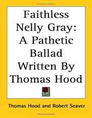 Cover of: Faithless Nelly Gray | Thomas Hood