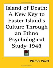 Cover of: Island of Death | Werner Wolff