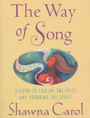 Cover of: The Way of Song | Shawna Carol