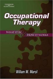 Cover of: Occupational Therapy | William M. Marcil