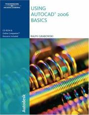 Cover of: Using AutoCAD  2006 | Ralph Grabowski