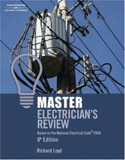 Cover of: Master Electricians Review: Based on the National Electrical Code  2008 by Richard Loyd