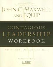Cover of: Contagious Leadership Workbook | John C. Maxwell