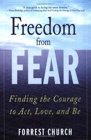 Cover of: Freedom from Fear by Forrest Church