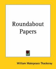 Cover of: Roundabout papers by William Makepeace Thackeray