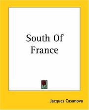 Cover of: South Of France | Jacques Casanova