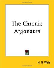 Cover of: The Chronic Argonauts by H. G. Wells
