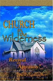 Cover of: Church In The Wilderness | Kelly P. Gallagher