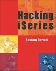 Cover of: Hacking iSeries | Shalom Carmel