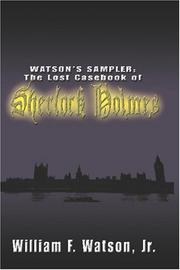 Cover of: Watson's Sampler | William F. Watson Jr.