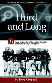Cover of: Third and Long | Steve Campbell