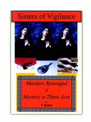 Cover of: Sisters of Vigilance | T. Butler