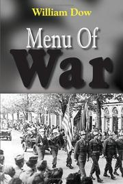 Cover of: Menu Of War by William Dow