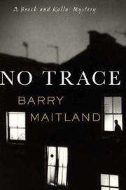 Cover of: No Trace | Barry Maitland