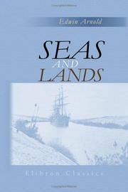 Cover of: Seas And Lands | Edwin Arnold