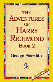Cover of: The Adventures of Harry Richmond, Book 2 | George Meredith