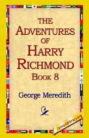 Cover of: The Adventures of Harry Richmond, Book 8 | George Meredith