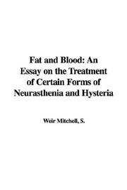 Cover of: Fat and Blood | S., Weir Mitchell