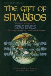 Cover of: The Gift of Shabbos by Yosef Stern