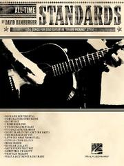Cover of: All-Time Standards | David Hamburger