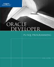 Cover of: Oracle 10g Developer | Joan Casteel