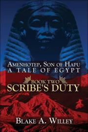 Cover of: Amenhotep, Son of Hapu: A Tale of Egypt: Book II | Blake A. Willey