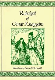 Cover of: Rubaiyat of Omar Khayyam | Omar Khayyam