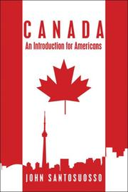 Cover of: Canada | John Santosuosso